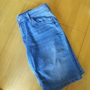 Calvin Klein Denim Shorts Size 12